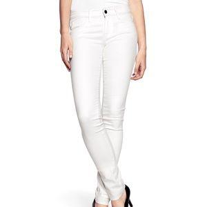 🏳️Cute White High Waisted Jeans